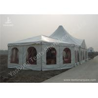 Wholesale Combined A Frame And High Peak Huge Wedding Tents Hard Aluminum Alloy Frame from china suppliers