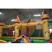 Quality Large Kids Inflatable Combo , Funny House Bouncy Jumping Castles for sale