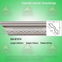 Buy cheap Good Quality European- style Decorative PU Carved Crown Moulding for Ceiling from wholesalers
