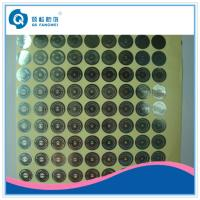 Wholesale Personalized Hologram Security Stickers , Medicine Anti Tamper Label Sheets from china suppliers