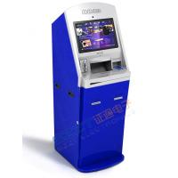 Buy cheap ZT2401 Lobby Ticket Vending Kiosk with ticket issuing & passpoart reader from wholesalers
