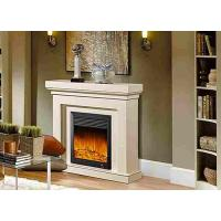 Wholesale Oak / Wooden Artificial Decoration Indoor Home Electric Fireplace Remote Control from china suppliers