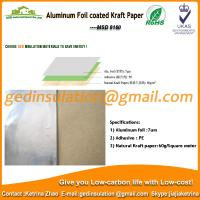 Wholesale Widely use Aluminum foil coated kraft paper reflective insulation for roof from china suppliers