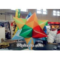 Wholesale Multi-color Inflatable Fat Star with Blower Inside for Corporate Events Decor from china suppliers