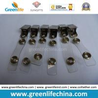 Buy cheap Factory Supply Cheap Good Quality Strap Office Badge Accessory Clip from wholesalers