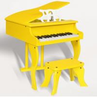 Wholesale Yellow / White 30 Key Mini Toy Wooden Piano Children Wooden Musical Instrument  / Music Present FW30 from china suppliers