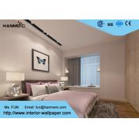 Wholesale Light Grey Washable Vinyl Modern Wallpaper Designs for Bedrooms , Living Room from china suppliers