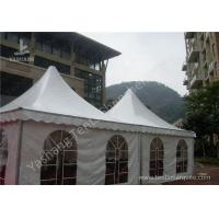 Wholesale Custom UV Resistant High Peak Tents 5x5 Canopy Tent , Wind 0.3kN/M2 from china suppliers