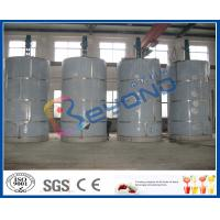 Wholesale ISO 5T - 30T Large Outdoor Milk Storage Stainless Steel Milk Tank With SUS304 SUS316L from china suppliers