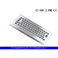 Wholesale 65 Keys Industrial Desktop Keyboard Stainless Steel With IP65 To IP68 from china suppliers