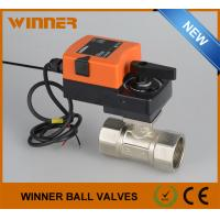 Wholesale Dirty Water Purfication System No Block Electric Operated Valve / Electric Ball Valve Waterproof from china suppliers