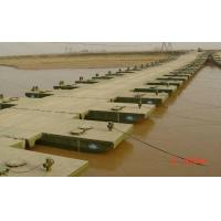 Wholesale Reusable Floating Pontoon Bridge / Army Pontoon Bridge With Heavy Loading Capacity from china suppliers