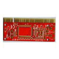 Wholesale Multilayer 4 layers ENIG , Gold Finger PCB with FR4 , CEM-1 , CEM-3 from china suppliers