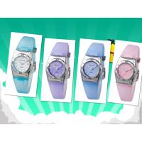 Wholesale Round PU Strap Kids Analog Watch Waterproof Outside When Diving from china suppliers