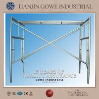 Wholesale Metal scaffolding h frame / ladder scaffolding system With Universal wheel from china suppliers