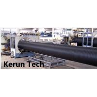 Wholesale Water Supply / Gas Supply Large Diameter HDPE Pipe Extrusion Equipment  Line 480 Kgs / H from china suppliers