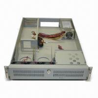 China Rack-mounted Industrial PC Chassis with 300/350/400W 2U Slim Mini Redundant Power Supply on sale