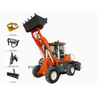 Wholesale small loader ZL15G with barrel grapple from china suppliers