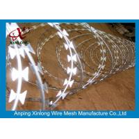 Wholesale Stainless Steel BTO-22 Concertina Razor Wire / Security Barbed Wire from china suppliers