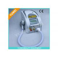 Wholesale Portable ND Yag Laser Tattoo Removal Equipment , Age Spot Removal Machine from china suppliers