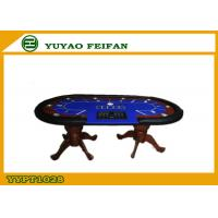 Wholesale Professional Casino Texas Holdem Poker Table Solid Wooden Legs from china suppliers