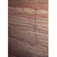 Wholesale ​Red Wooden Vein Marble Gloss Marble Floor Tiles Flooring Big Slab 2.7g / Cm³ Density from china suppliers