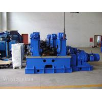 Wholesale High Speed 22kw H-Beam Production Line , Steel Flange Bean Straightening Machine from china suppliers