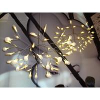 Wholesale Resturant Decorative Nickel LED Acrylic Pendant Lights 0.2 W Per Head from china suppliers