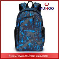 Quality Blue travel sports duffle bag laptop school backpacks for college for sale