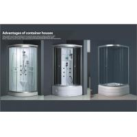 Wholesale Sliding Door prefab container home kits bathroom , white ABS shower tray from china suppliers