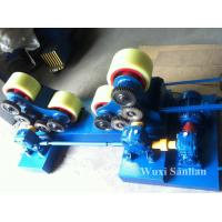 Wholesale Pressure Vessel 80T Pipe Turning Rollers , Self-aligned Welding Rotator 380V from china suppliers