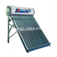 Wholesale 250L with 45° support color steel unpressurized white solar boiler from china suppliers
