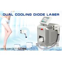 Wholesale Dual Cooling Diode Laser Hair Removal Machine / 808nm Diode Laser For Distributors from china suppliers
