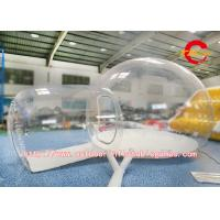 Wholesale Round Shaped Inflatable Bubble Room For Camping Commercial Grade Oxford / PVC from china suppliers