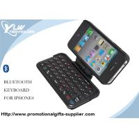 Wholesale Black Built-in rechargeable battery waterproof Bluetooth 2.0 Keyboard for Iphone from china suppliers