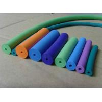 Wholesale No Taste Silicone Foam Tubing Low Water Absorptivity , FDA LFGB Approved from china suppliers
