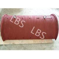 Wholesale Wire Rope Or Cable Hoisting Drum Requiring Lebus Sleeve Steel Material from china suppliers