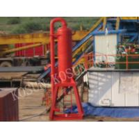 Wholesale ZYQ800 / ZYQ1000 / ZYQ1200 Mud gas separator treat the gas invade in the drilling fluids from china suppliers