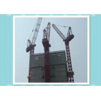 Wholesale Slef-Raising Electric Luffer Tower Crane Boom Length 50m , Hammerhead Tower Crane from china suppliers
