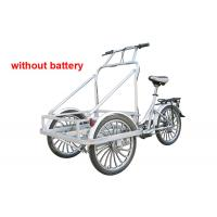 Wholesale Electric Cargo Tricycle with Cabin , Man-powered Ice Cream Tricycle from china suppliers