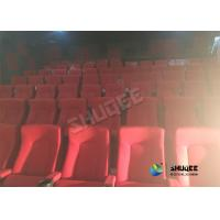 Wholesale Special Effects Function Movie Theatre Seats / Chairs With Excited Feeling from china suppliers
