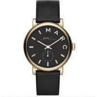 Wholesale Wholesale NEW MARC BY MARC JACOBS LADIES WATCH BAKER GOLD TONE BLACK LEATHER STRAP MBM1269 from china suppliers