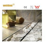 Wholesale Wet room Brass long S S Channel Shower Drain Professional manufactory from china suppliers