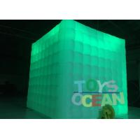Wholesale 2.5m Cube Tube Led Lighting Advertising Inflatables Portable Photo Booth Wedding Tents from china suppliers