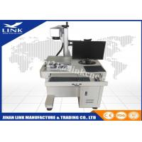 Wholesale Desktop CNC Marking Machine , Air Cooling Fiber Laser Marking System from china suppliers