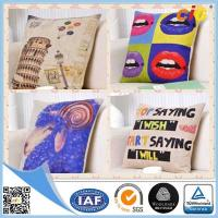 Buy cheap Natural Color Digital Printing 100% Cotton Decorative Cushion Covers for Home Decoration from wholesalers