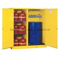 Wholesale Wall Mount Flammable Liquids Safety Cabinet With Three Shelves from china suppliers