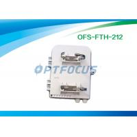 Wholesale 12mm Fibre Optic Termination Box 1×8 1×12 PLC Splitter SC Adapter CATV Networks from china suppliers