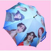 "Wholesale 23""*8k straight hot transfer umbrella printing from china suppliers"