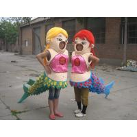 Wholesale adult plush fish mascot costume  from china suppliers